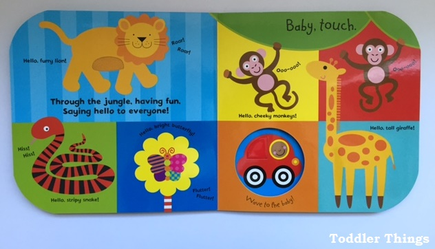 Baby Touch Busy Baby book review