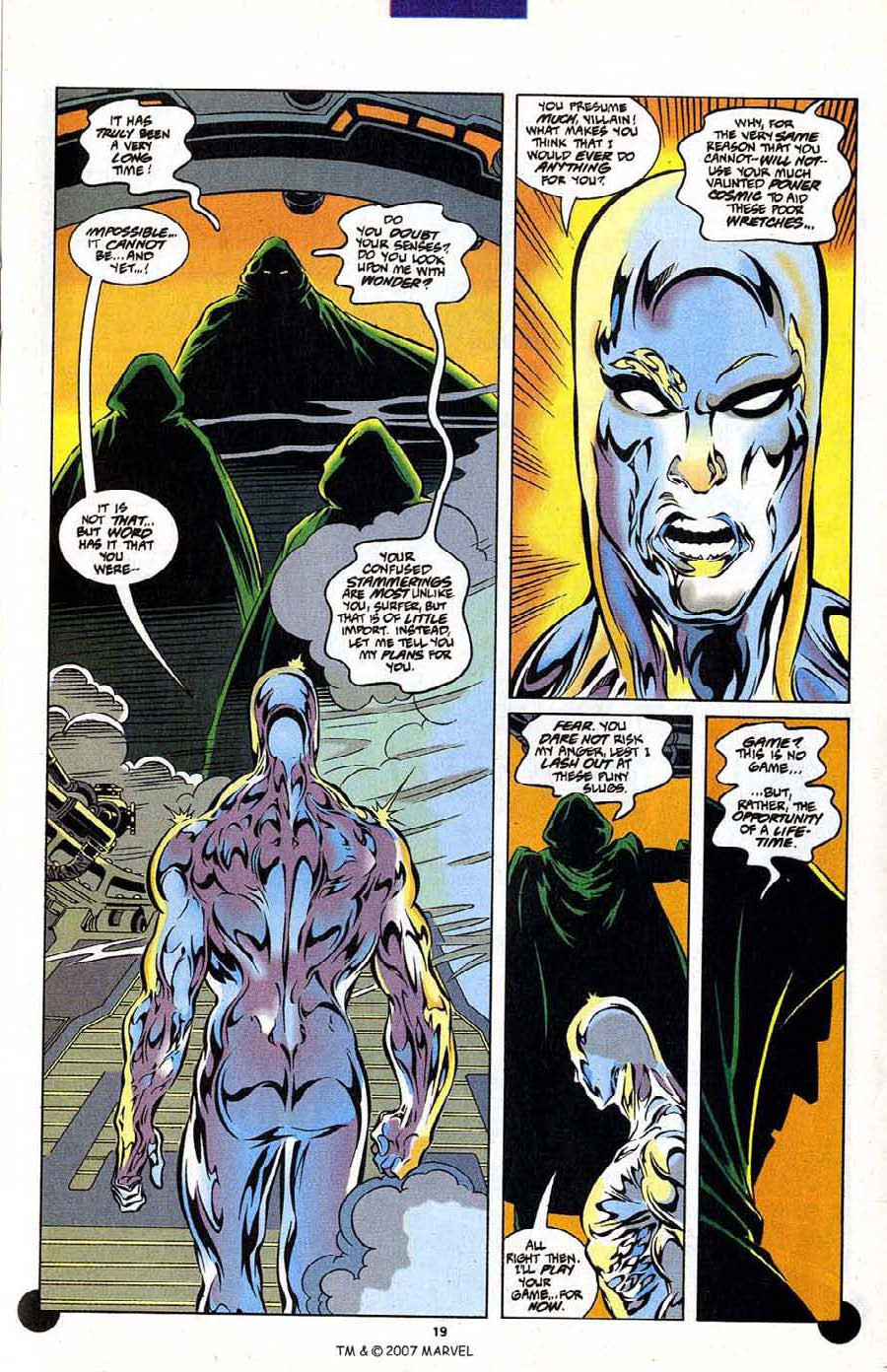 Read online Silver Surfer (1987) comic -  Issue #106 - 21