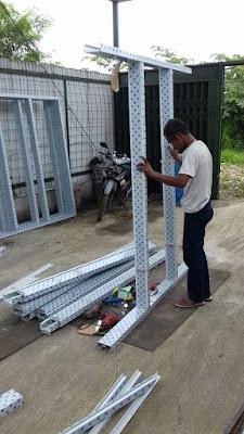 Cara Membuat Pintu Aluminium Kaca Minimalis 7