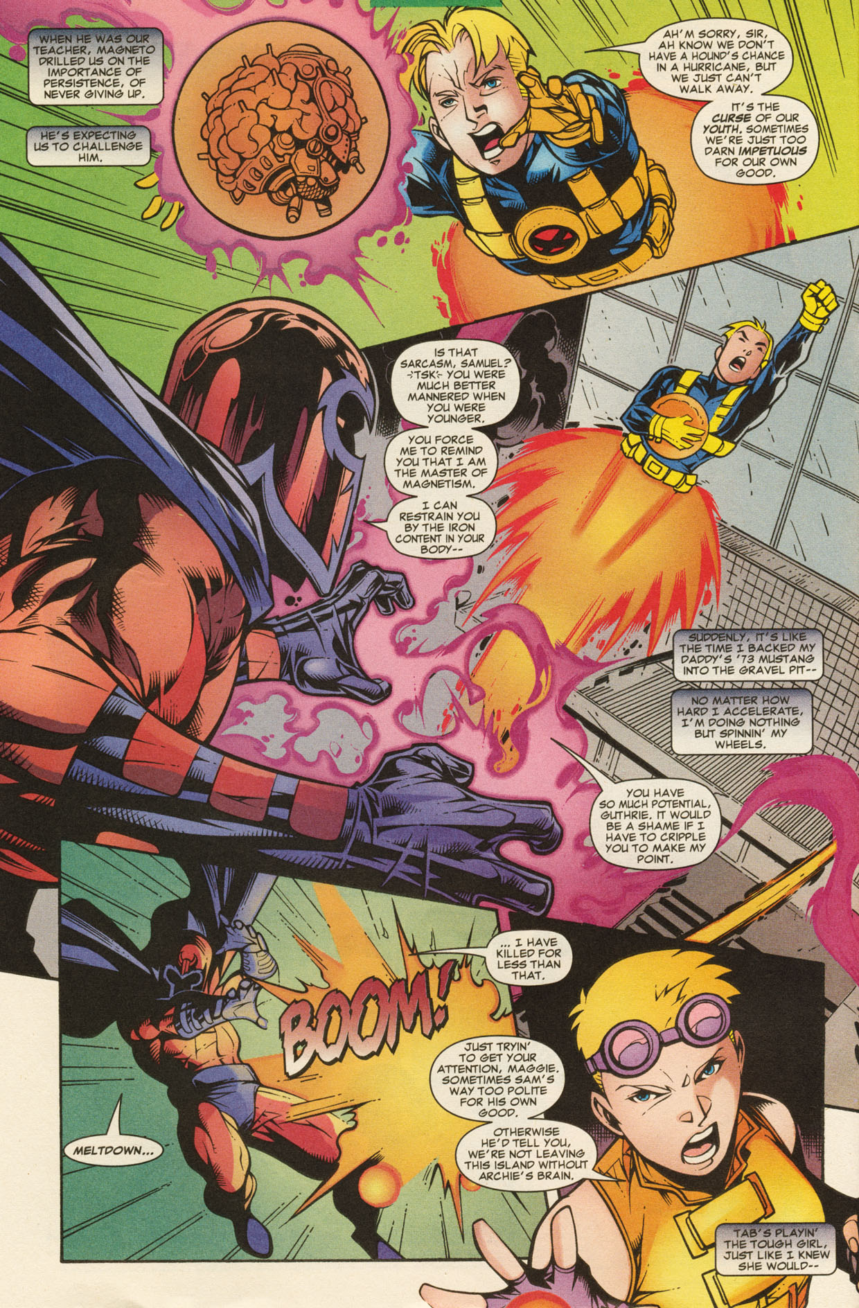 Read online X-Force (1991) comic -  Issue #95 - 15