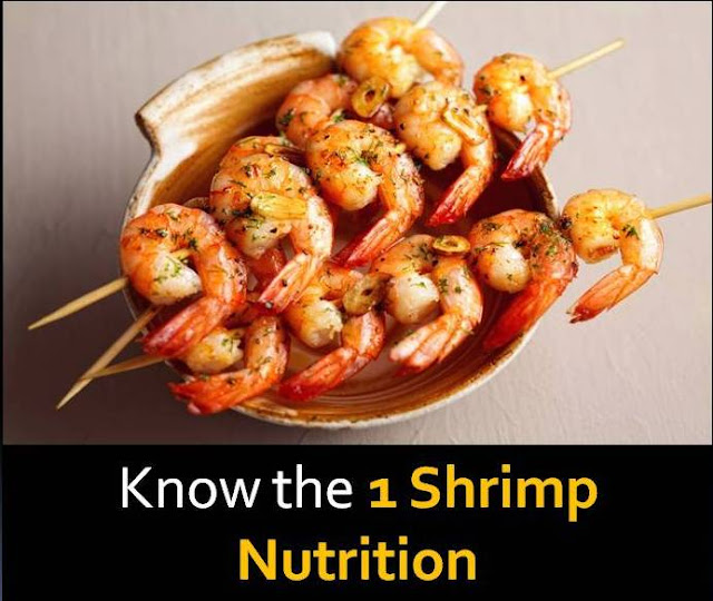 1 shrimp nutrition