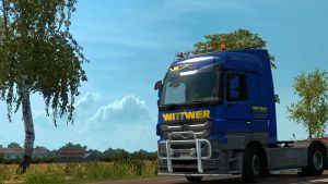 Wittwer skin for Mercedes Actros 2009
