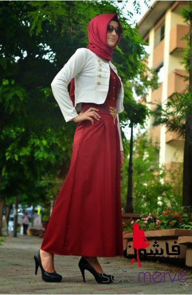 7e1a7b2d12520 مجموعة أزياء محجبات من سيفا ميرفي 2014 - فاشون
