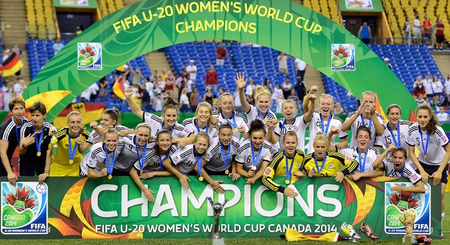 d448be6910 O futebol da Alemanha vem dominando o ano de 2014. Depois do  tetracampeonato mundial da seleção principal no Brasil e do bicampeonato  europeu da equipe ...