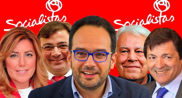 Corderos con piel de lobo: PSOE