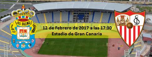 Previa UD Las Palma - Sevilla CF 12 Febrero 17:30