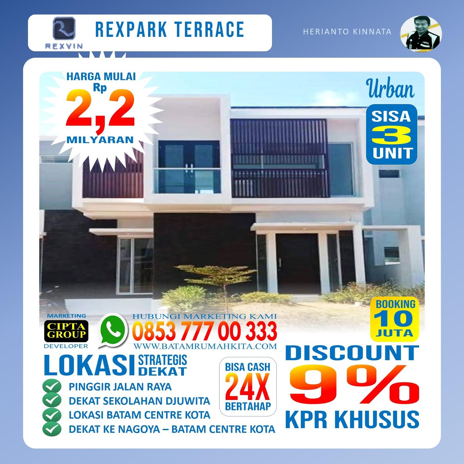Perumahan Rexpark Terrace - Type urban -1