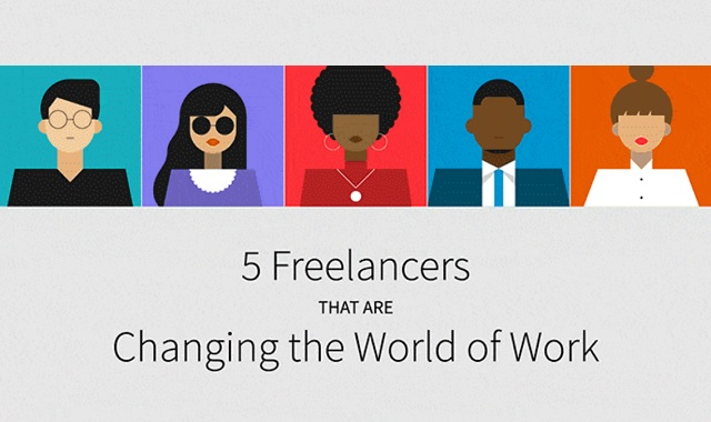 5 Freelancers That Are Changing the World of Work