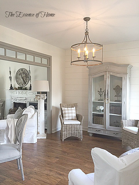 It Has An Old World Look To And Fits In Well With The French Farmhouse Style That I Like Have On A Dimmer Switch So Can Control Brightness Of