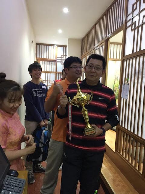 Hội viên dành giải nhất của cuộc thi.
