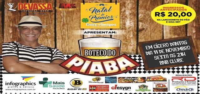 Show de Humor em Cícero Dantas, Não percam!Dia 11 de Novembro no BNB clube