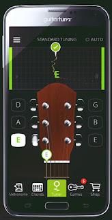 Cara Menyetem Senar Gitar Drop D Otomatis Menggunakan Aplikasi