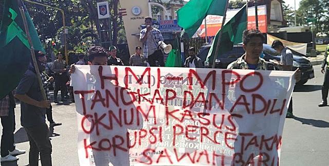 HMI Mataram Minta Koruptor Cetak Sawah Diadili