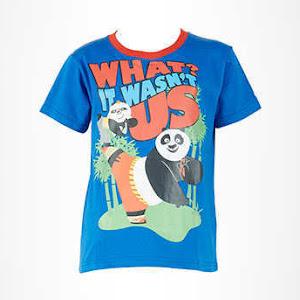 Kaos Anak Kung Fu Panda Wasn't Us Short Sleeve T-Shirt