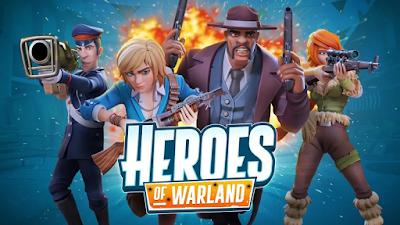 تحميل أخر إصدار لعبة Heroes of Warland الأندرويد و الايفون برابط مباشر