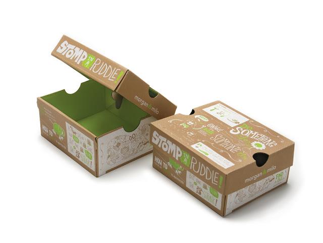 In hộp giấy đựng giày chất lượng