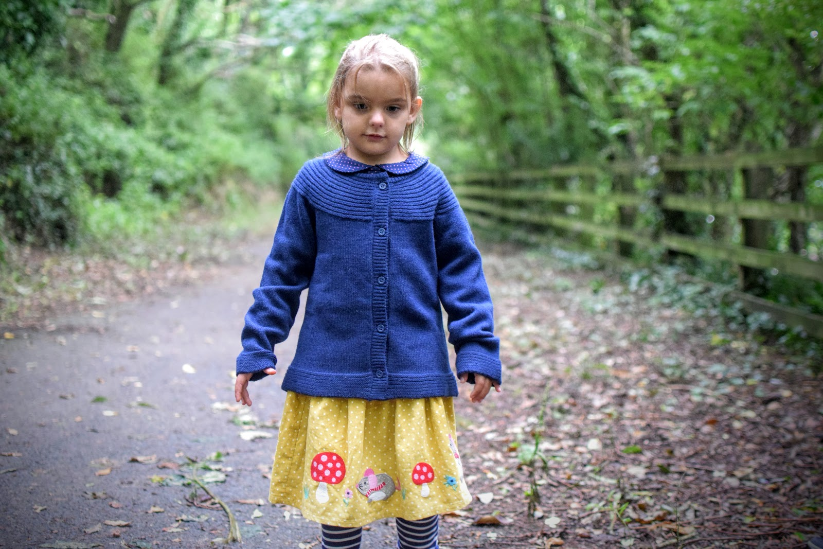 , A Woodland Walk and A First Look at the JoJo Maman Bébé Kids Autumn Range #AW16