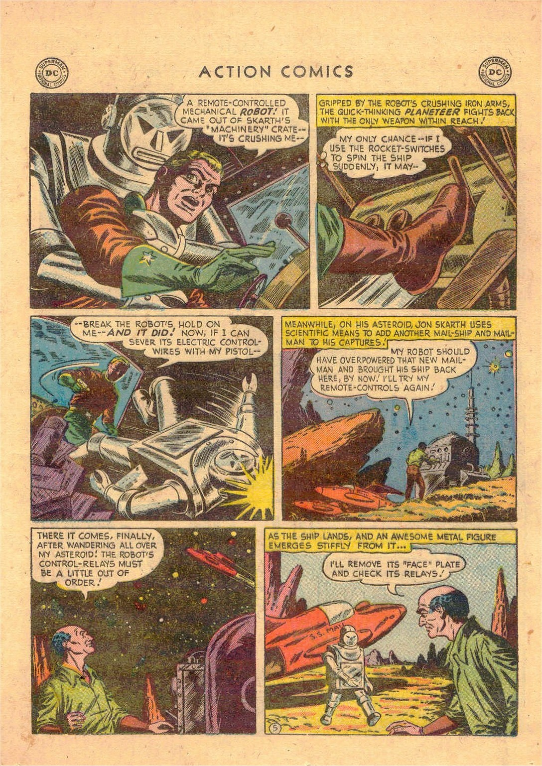 Read online Action Comics (1938) comic -  Issue #181 - 28