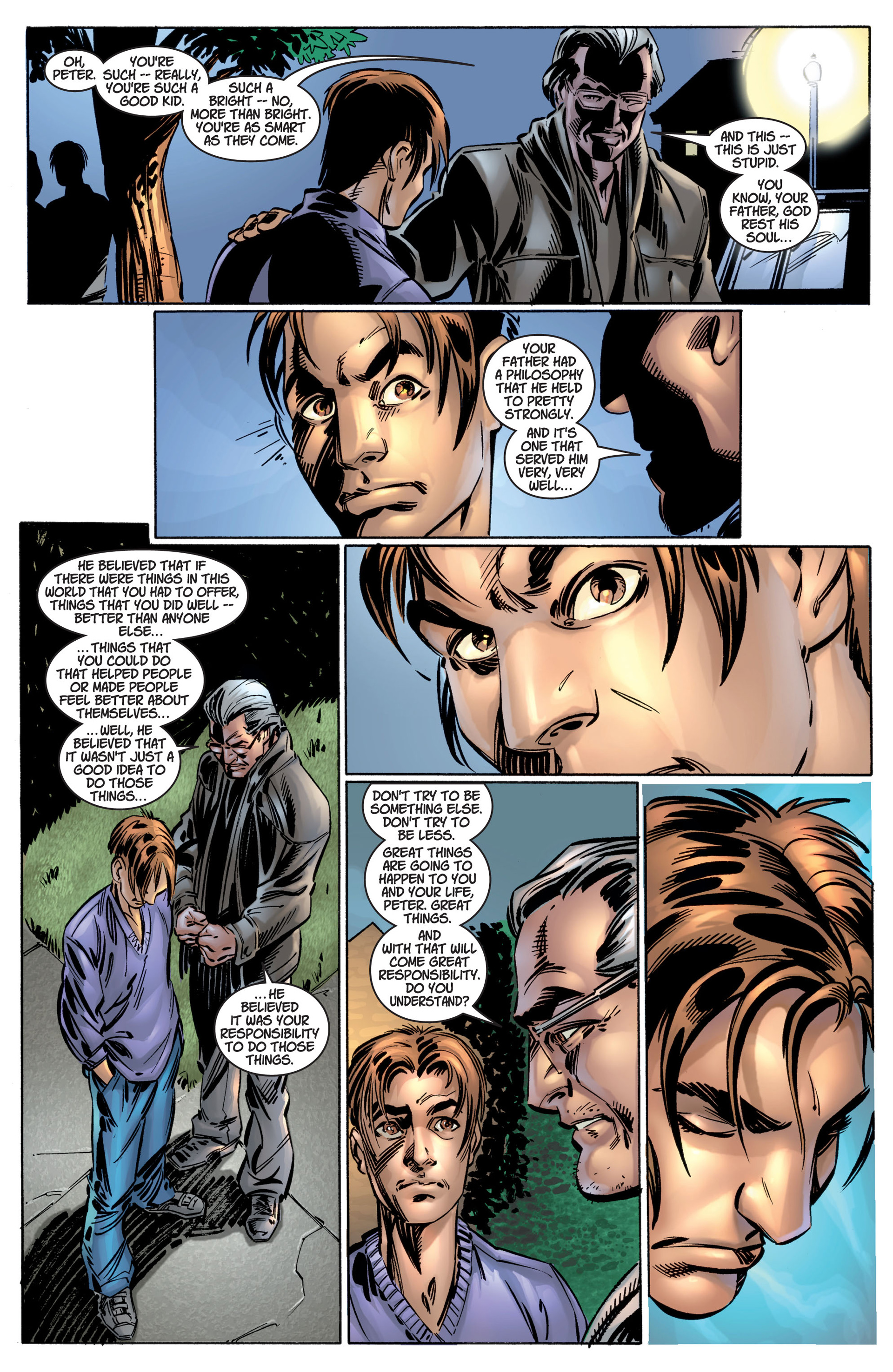 Read online Ultimate Spider-Man (2000) comic -  Issue #4 - 18