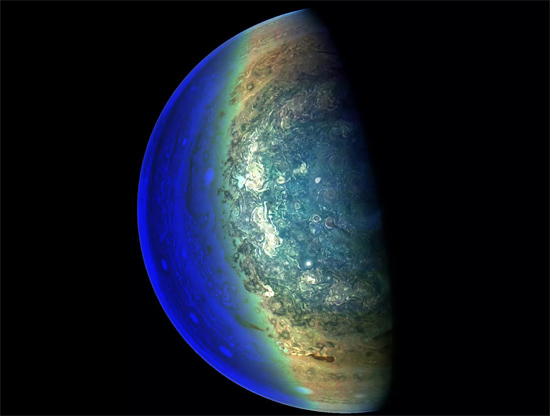 NASA libera mais fotos inéditas de Júpiter - Img 1