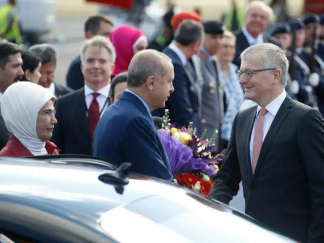 Turkey's Recep Tayyip Erdogan calls on Germany to list Gulen group as terrorist