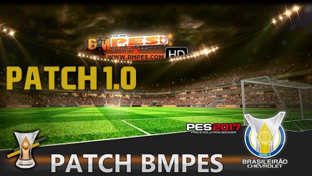 PATCH BMPES 1.0 PARA PES 2017 + ATUALIZAÇÃO 1.02 + SERIAL GRÁTIS