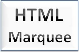 text berjalan html marquee