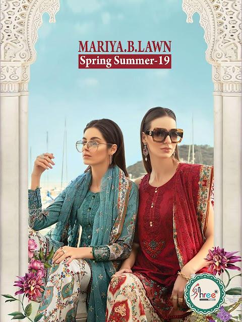 Shree Fab Mariya B lawn Spring Summer vol 19 Pakitani Suits