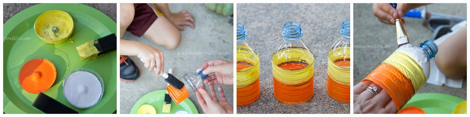 #halloween #diy #dasaniwater #painting
