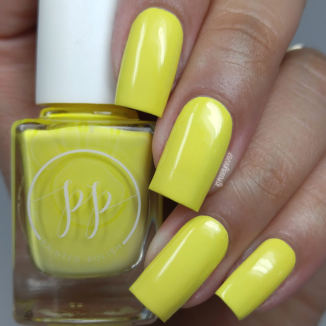 Painted Polish - Stamped in Starfruit