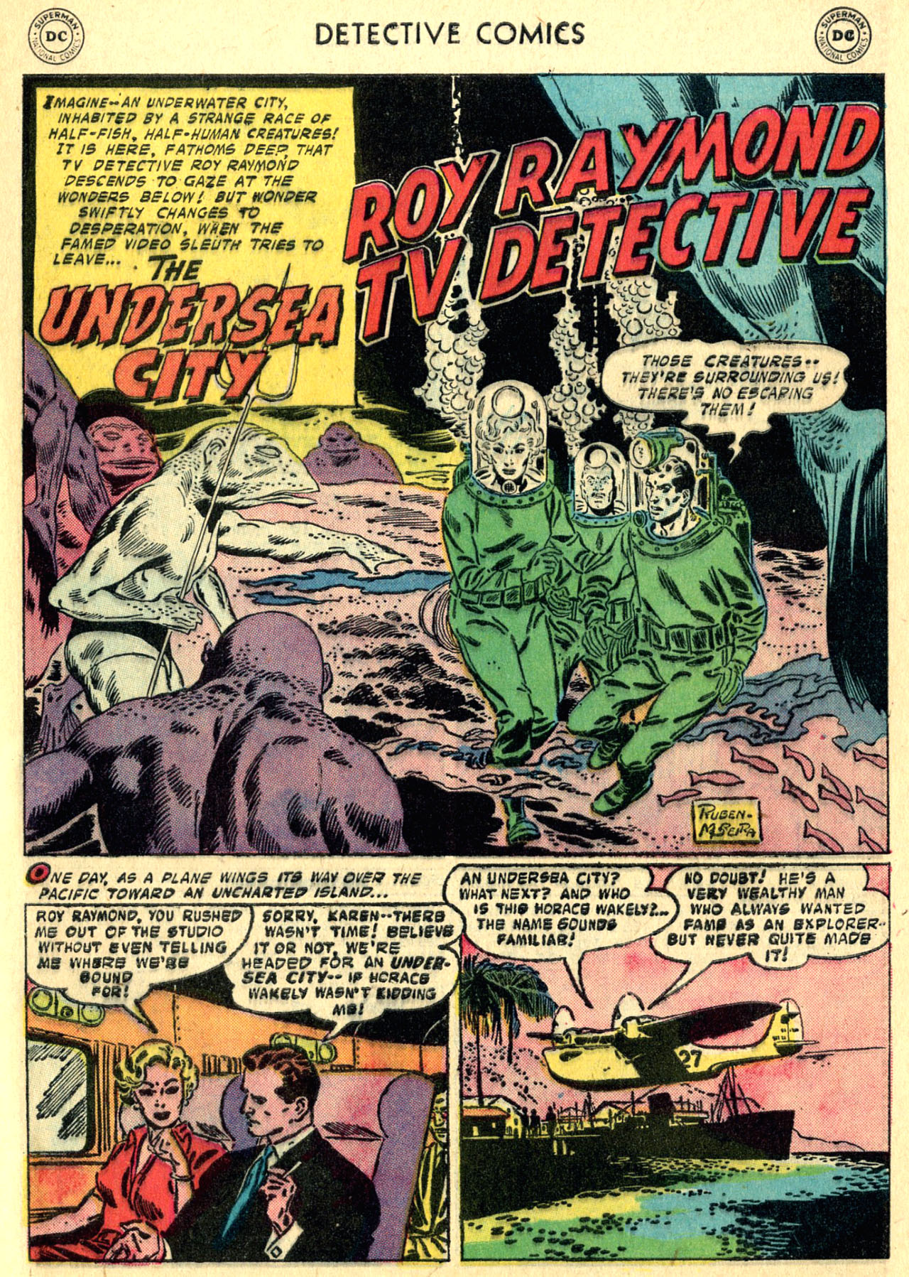 Read online Detective Comics (1937) comic -  Issue #252 - 27