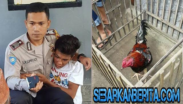 Polisi Ini Lindungi Bocah yang Hampir Diamuk Massa karena Maling Ayam