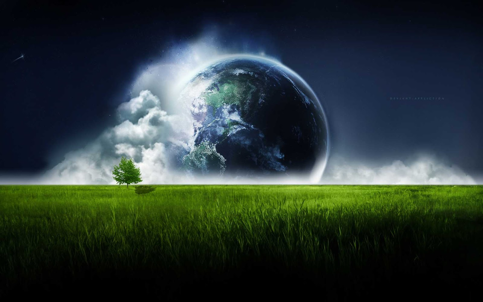 HQ Wallpapers: Earth Fantasy HD Wallpapers