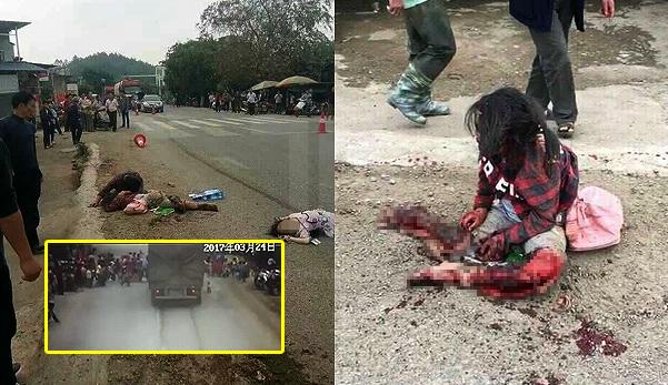 3 pelajar maut, 2 cedera dirempuh lori ketika melintas jalan