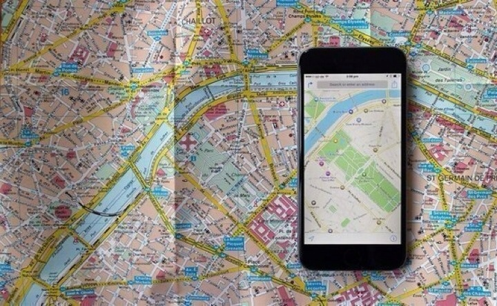 Apple Maps Apps on iPhone