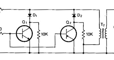 circuit diagram: Audio Powered Noise Clipper Circuit Diagram