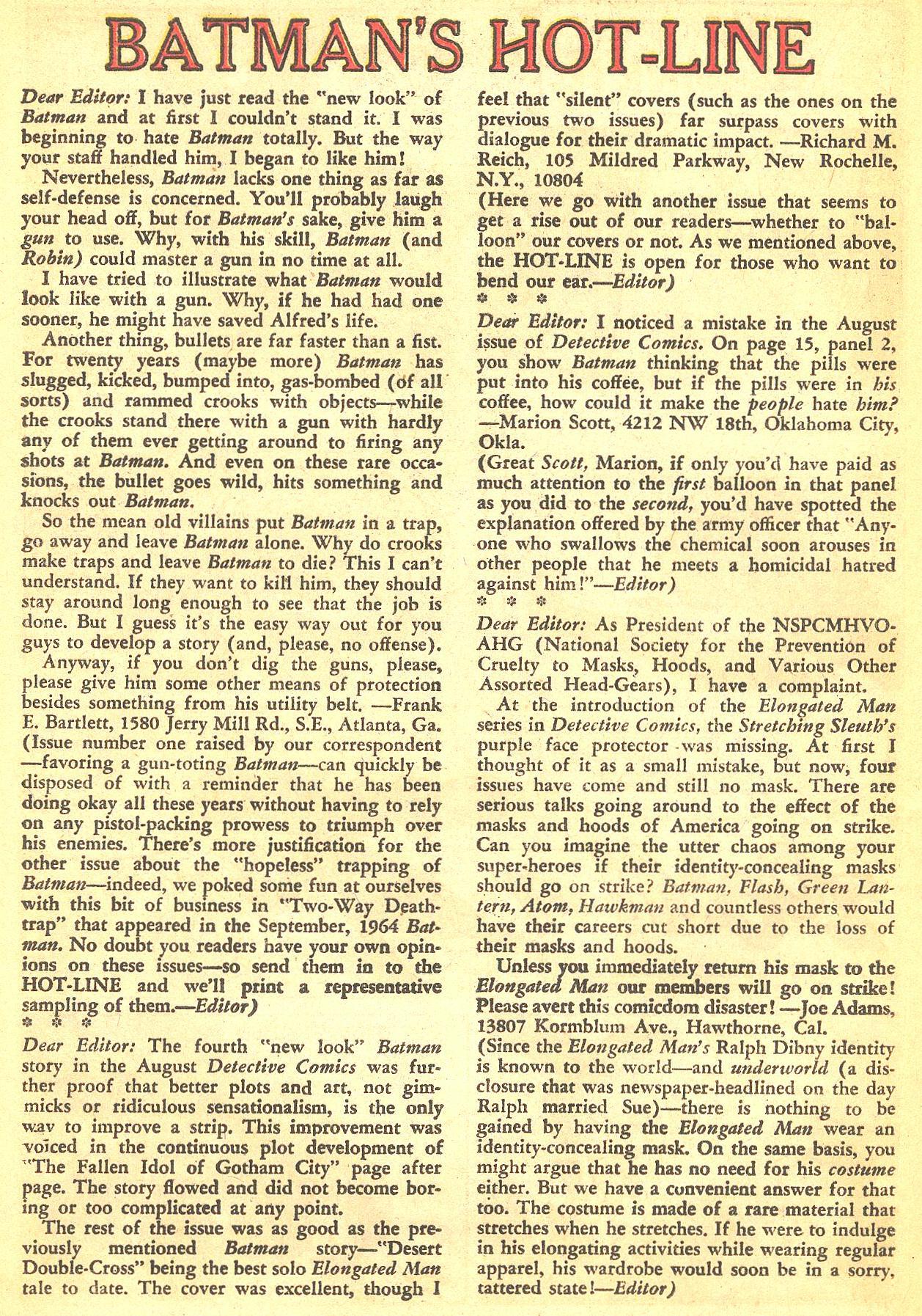 Detective Comics (1937) 334 Page 19