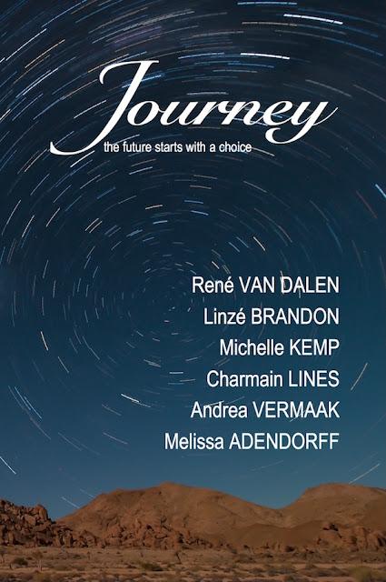 Journey anthology, Linzé Brandon, Charmain Lines, Michelle Kemp, René van Dalen, Melissa Adendorff, Andrea Vermaak