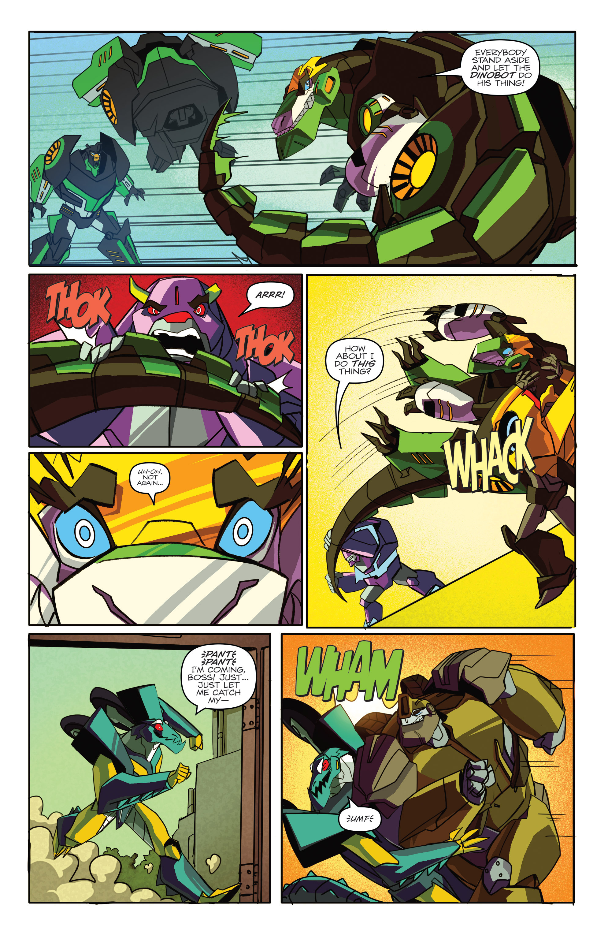 Read online Transformers: Robots In Disguise (2015) comic -  Issue #4 - 17