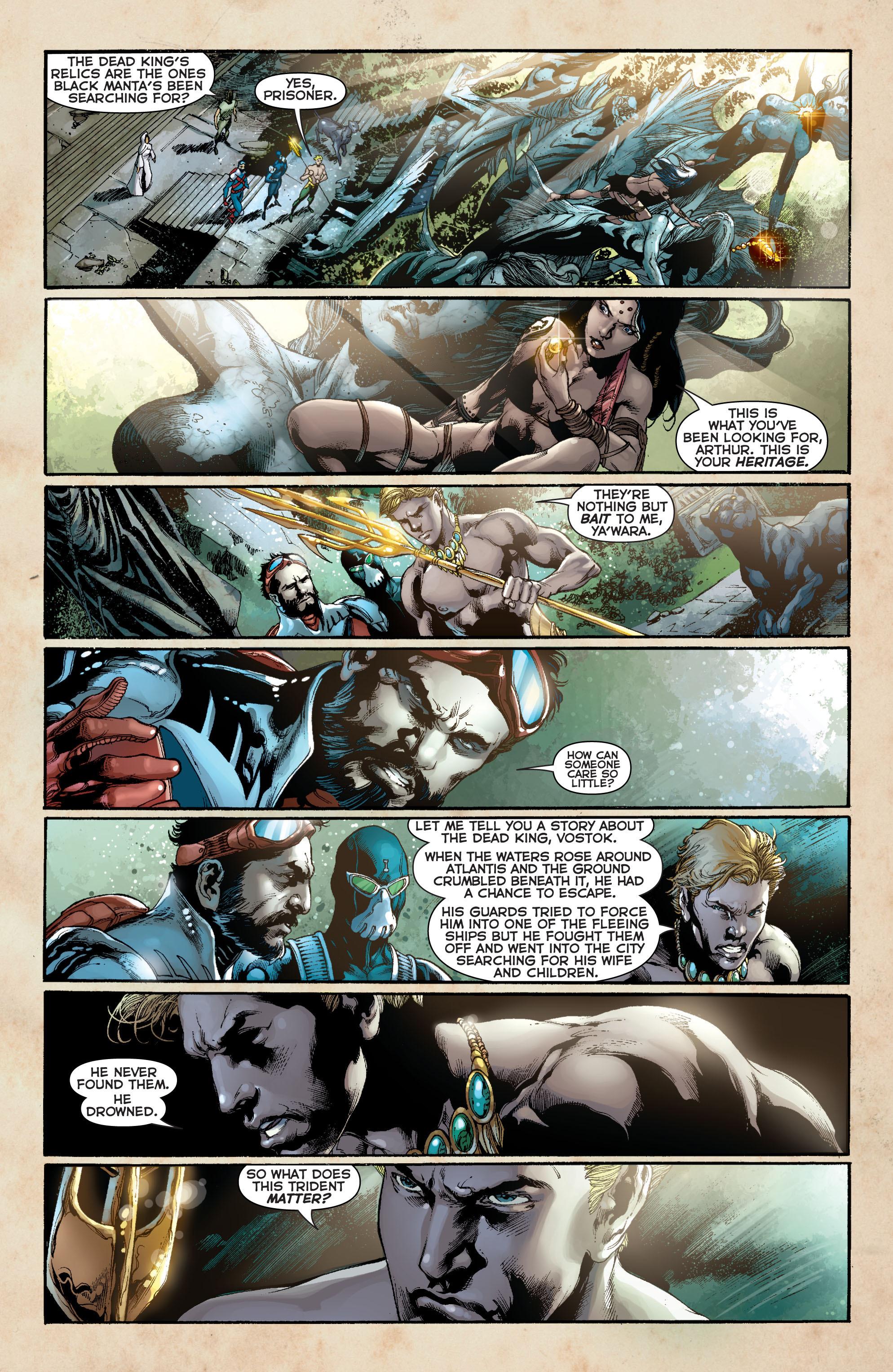 Read online Aquaman (2011) comic -  Issue #11 - 4