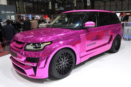 Range Rover Best Luxury Cars: Luxury Life Design: PINK Cars