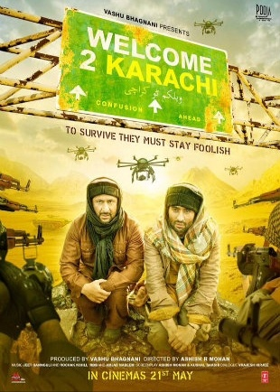 Welcome 2 Karachi 2015 Full Hindi Movie Download HDRip 720p