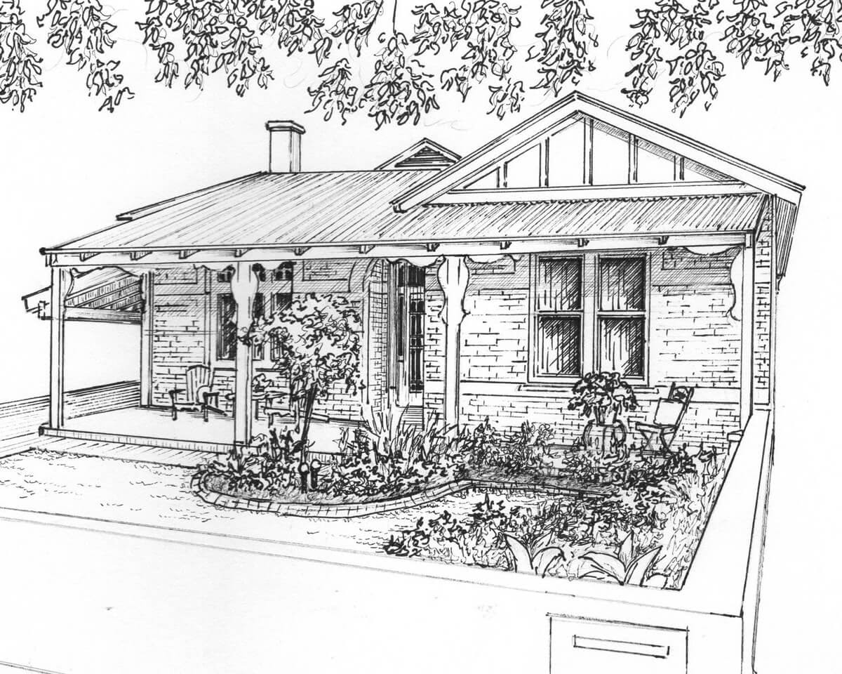 08-Custom-House-Drawing-Ink-Mary-Frances-Smith-Architecture-Expressed-in-House-Drawings-www-designstack-co