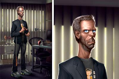 Dr. House ilustración