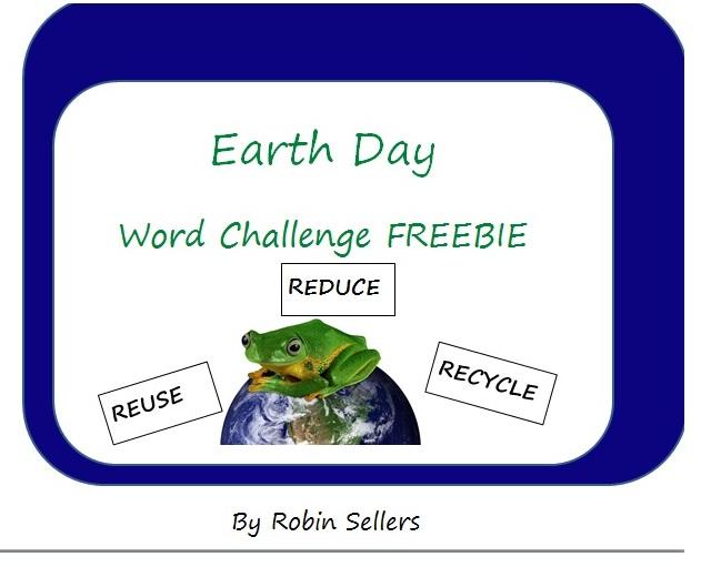 Sweet Tea Classroom: {Free} Earth Day Classroom Freebie