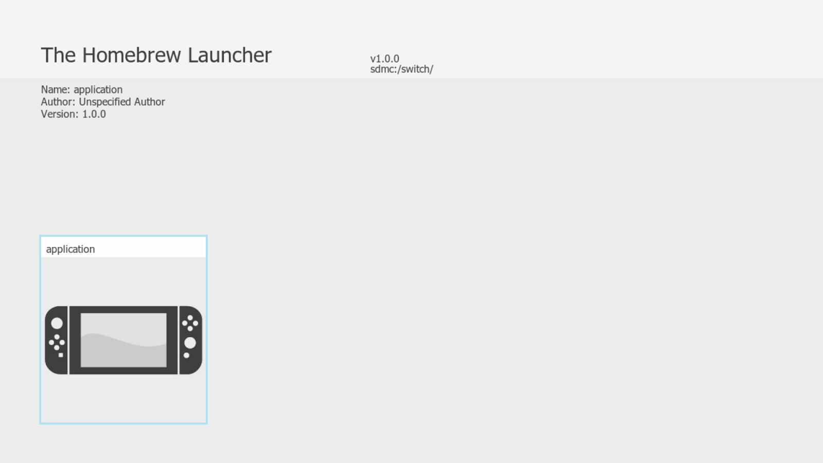 Beyond Consoles: Tutorial: Nintendo Switch Homebrew Launcher