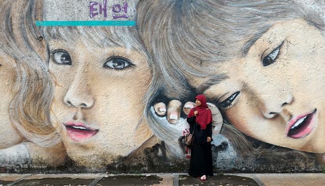 mural di kota bandung