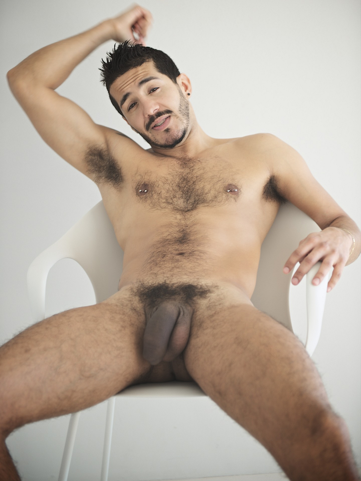 Latino Hot hairy men naked