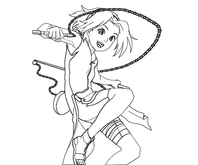 haruno coloring pages - photo#4