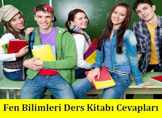 8. Sınıf Fen Bilimleri Ekoyay Yayınları Ders Kitabı Cevapları
